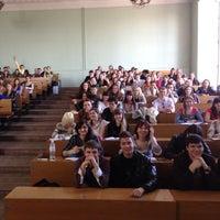 Photo taken at КНЕУ / Київський національний економічний університет ім. В. Гетьмана by Iurii G. on 4/16/2013