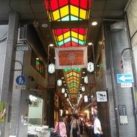 Photo taken at Nishiki Market by Janice K. on 10/2/2012