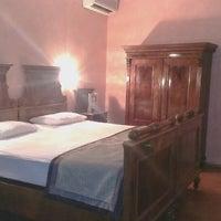 Photo taken at Hotel Roma Prague by Samantha P. on 3/28/2013