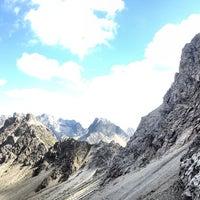 Photo taken at Dolomitenhütte by 真鍋 耕. on 9/5/2013