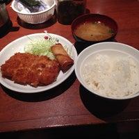 Photo taken at さくら水産 四條通麩屋町店 by Ken Y. on 11/22/2013