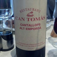 Photo taken at Can Tomàs by Mia M. on 1/4/2014