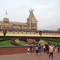 Photo taken at Hong Kong Disneyland by mogmog s. on 4/29/2013