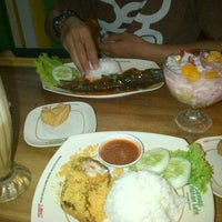 Photo taken at Pecel Lele Lela by Dha W. on 2/15/2015