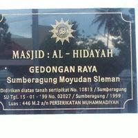 Photo taken at Masjid Al Hidayah Gedongan by Rony R. on 6/12/2013