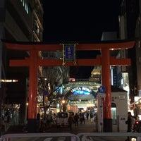 Photo taken at 生田神社参道 by まっつぁん on 12/5/2014