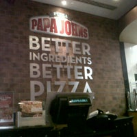 Photo taken at Papa John's by Ooopsrobyn on 4/1/2013