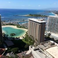 Photo taken at Hilton Hawaiian Village Waikiki Beach Resort by Christine A. L. on 1/22/2013