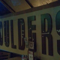 Photo taken at Boulders on Broadway by ghoulbuns on 10/3/2012