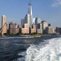 Photo taken at NY Waterway Ferry - World Financial Center Terminal by Matt B. on 7/17/2013