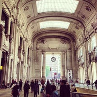 Photo taken at Milano Centrale Railway Station by Marco M. on 5/22/2013