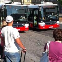 Photo taken at Dejvická (bus) by Tigra . on 7/16/2013