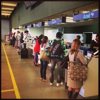 Photo taken at Check-in Azul by Matheus M. on 8/5/2013