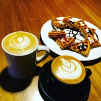 Photo taken at Cafe 9803 by Tung-Ying S. on 1/2/2016