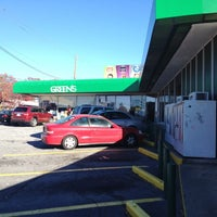 Photo taken at Green's Beverages by Carlton M. on 11/25/2012