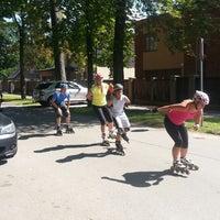 Photo taken at Meža prospekts by Eduards on 8/4/2013