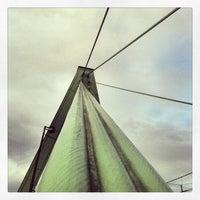 Photo taken at Severinsbrücke by Ramires 2. on 12/16/2012