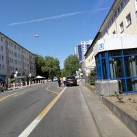 Photo taken at U Seckbacher Landstraße by Pedro M. on 5/5/2018
