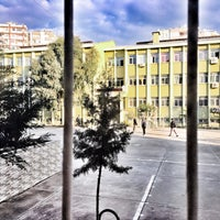 Photo taken at Çukurova Elektrik Teknik ve Endüstri Meslek Lisesi by Ogün F. on 3/15/2017
