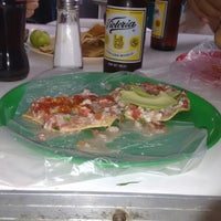 Photo taken at Tostadas y mariscos Don lupe by Miguel Eduardo M. on 12/25/2014