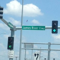 Photo taken at James River Expwy & Campbell Ave by Brad H. on 7/14/2013
