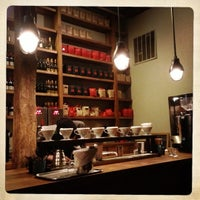 Photo taken at Kaffe 1668 by Jonathan P. on 10/27/2012