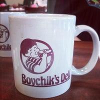 Photo taken at Boychik's Deli by Chris C. on 10/19/2012