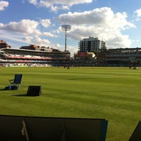 Photo taken at Lord's Cricket Ground (MCC) by Kevin R. on 7/25/2013