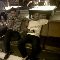 Photo taken at Arena Pool & Cafe by Hputra A. on 3/18/2013