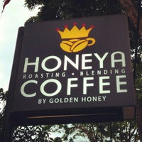 Photo taken at honeya coffee by Golden H. on 10/2/2014