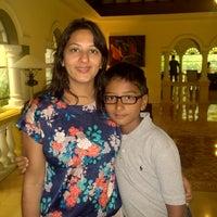Photo taken at Vivanta By Taj - Holiday Village by Rikin S. on 6/17/2014