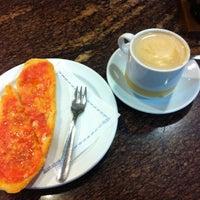 Photo taken at Cafeteria Gran Capitan by Daniela M. on 12/16/2014