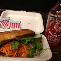 Photo taken at Num Pang Sandwich Shop by Jemima K. on 8/15/2013