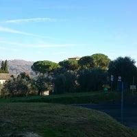 Photo taken at Abbazia di Farfa by Vik L. on 12/21/2014