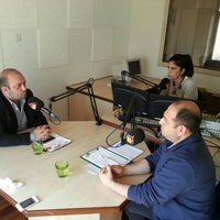 Photo taken at Radyo Ülkü 106.5 radyoulku.com by Serkan T. on 3/3/2015