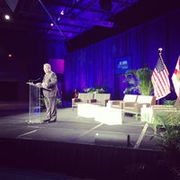 Photo taken at Contemporary Resort Convention Center by Peter S. on 10/15/2013