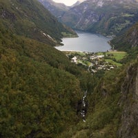 Photo taken at Geirangerfjorden by Lindsey P. on 9/9/2017