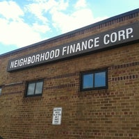 Photo taken at Neighborhood Finance Corporation by Ashley S. on 12/11/2012