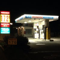 Photo taken at Huber's Discount Tankstelle by M. H. on 10/3/2014