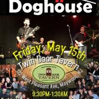Photo taken at Maywood Inn's Twin Door Tavern by James M. on 4/23/2015