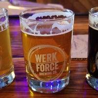 Photo taken at Werk Force Brewing Co. by Josh G. on 7/13/2018