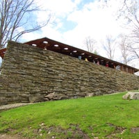 Photo taken at Kentuck Knob by Martina C. on 5/3/2015