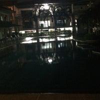 Photo taken at สระว่ายน้ำ Casarunar by Chanakarn J. on 3/11/2015