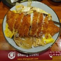 Photo taken at Sheng Sushi by Farid D. on 5/2/2018