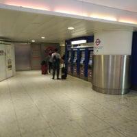 Photo taken at Heathrow Airport Terminals 2 & 3 London Underground Station by DTourist F. on 1/20/2018