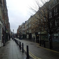 Photo taken at Lambs Conduit Street by DTourist F. on 12/27/2013