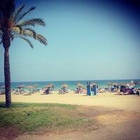 Foto tomada en Playa de La Malagueta por Gabriel S. el 6/27/2013