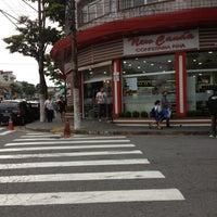 Photo taken at New Canaã Confeitaria Fina by Carlos Eduardo on 11/30/2012