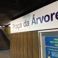 Foto tirada no(a) Estação Praça da Árvore (Metrô) por AntonioGN_ em 12/10/2012