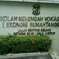 Photo taken at Sekolah Menengah Vokasional (ERT) by Aiman Z. on 10/23/2013